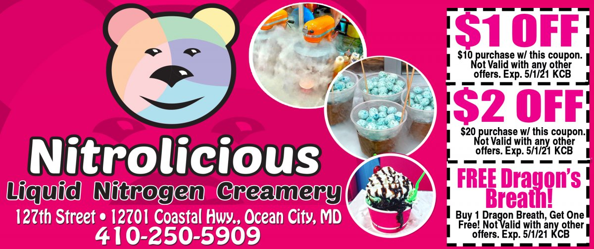 $1.00 Specialty Ice Creams!
